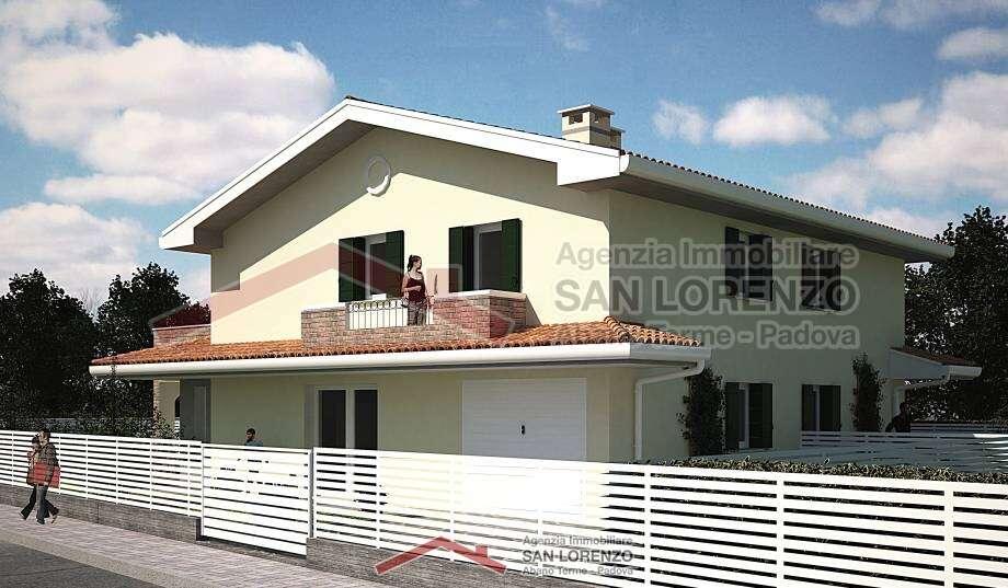 Splendida bifamiliare ad abano terme immobiliare san lorenzo - Immobiliare san lorenzo ...