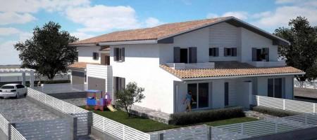 Trifamiliare vista colli ad Abano Terme – zona Monterosso