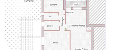 Appartamento  P. Terra con giardino-Classe A- Montegrotto Terme