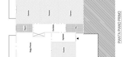 Appartamento al piano primo – 3 camere – zona centrale di Abano Terme