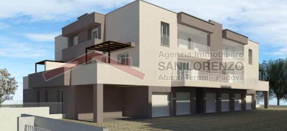 Nuovo appartamento 3 camere con giardino- San Giacomo-Albignasego